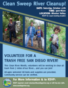 Clean Sweep River Cleanup!