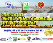 Seminario regional de certificación ecológica y de fairtrade para la agroexportación sustentale