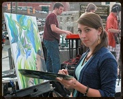 Howard Street Exchange Festival and Pleine Air Paintout