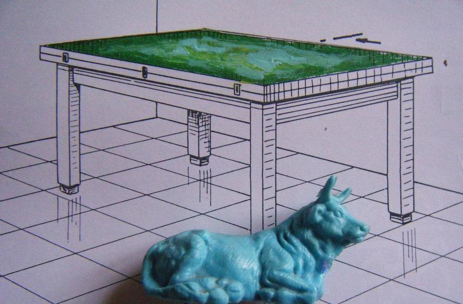 pré carré / table ronde