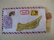 My first return mail, from Jen Staggs