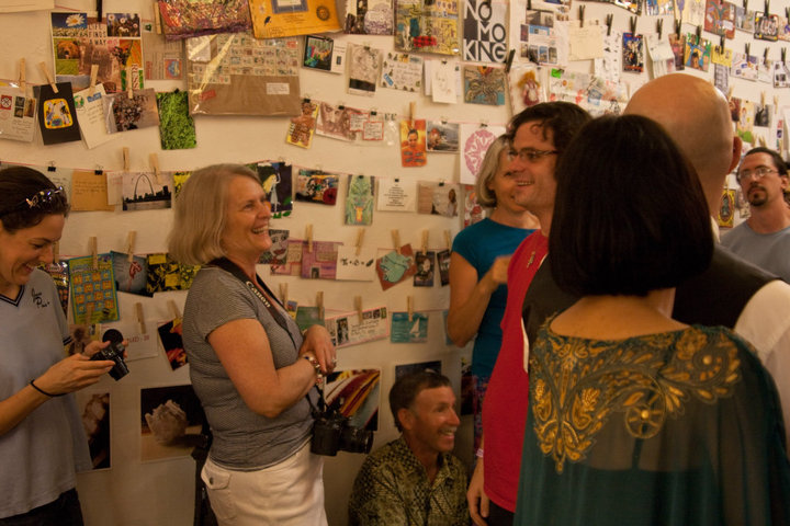 UR Toy Story Mail art show opening