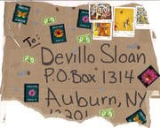 Mail-art by Batgirl (NY, USA)