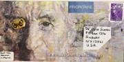 Mail-art by Valentine Mark Herman (France)