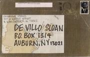 Mail-art by Lisa Iversen (Indiana, USA)