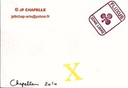 Mail-art by JF CHAPELLE (France)