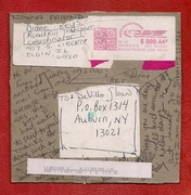Mail-art by Diane Keys (Illinois, USA)