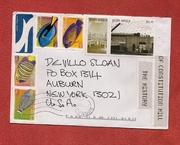 Mail-art by Cheryl Penn (Durban, South Africa)