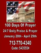 First 100 Days of Prayer for the Nation