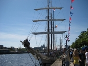 Sketching - Dublin Docklands and Maritime Festival