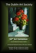 Dublin Art Society 50th Annual Exhibition in aid of the Blackrock Hospice.