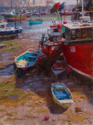 """Ned Mueller - Three day Landscape Painting  Workshop at """"The Swallowsnest Studio"""", Wexford"""