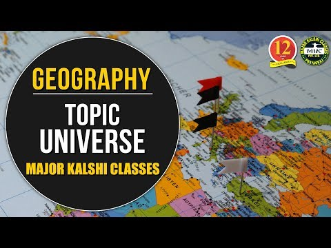 Online Geography Classes   Topic – Universe