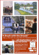 """""""A Brush with the Broads"""" Plein Air Festival in UK"""