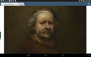rembrandt exhibition in the ulster museum .
