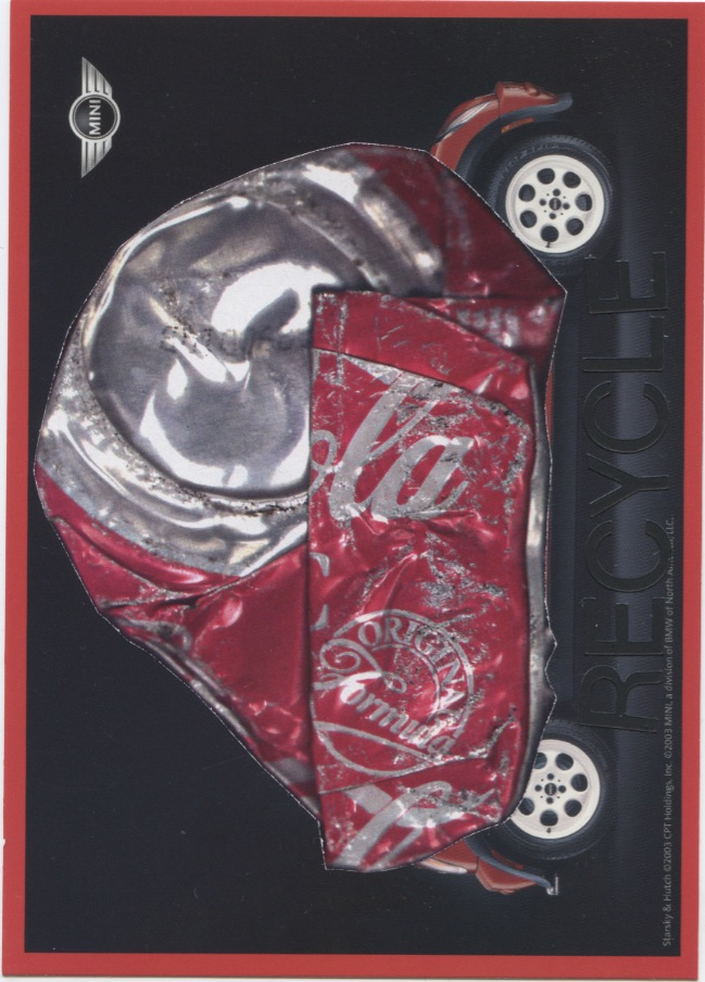 Recycle Coke Can for JC