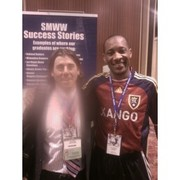 with Alex Kotler,Founder of Football Partners O America @ Sports Management Worldwide Conference.