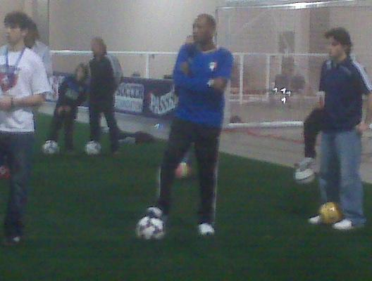 Me,@ the USSoccer world record most people jogging the ball @the same time n same place