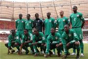 George with D Eagles 04' Cup Of Nations squad