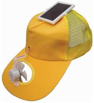 Solar Cap for World Cup in South Africa