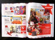 mailart on the YOHO magazine in shanghai