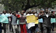A Peaceful Protest Against  Deploy of Soldiers in Lagos- 8