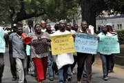 A Peaceful Protest Against  Deploy of Soldiers in Lagos- 7