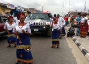 IMAGES from Chief Thomas Ekpemupolo'S BURIAL RITES