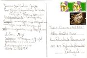 Verso-Take 1-Cinema Mail Art