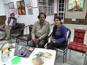 At the K. T. Art Gallery, Amritsar, Punjab