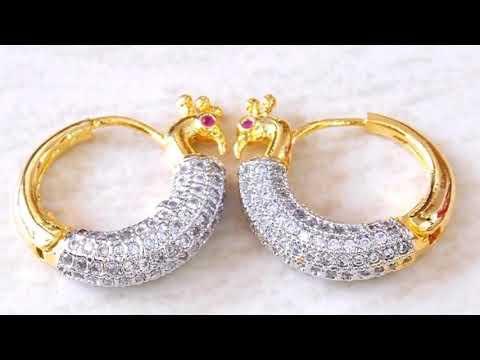 Latest Hoop Earring Designs for Women