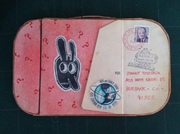 Mail Art Suitcase