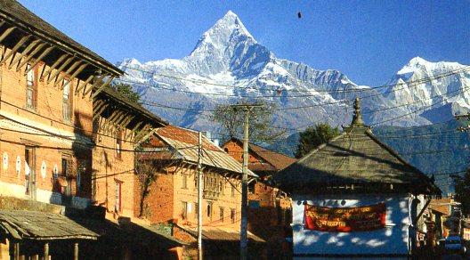 Rahdu Budha, Nepal, greetings from Kathmandu