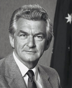 In memory Bob Hawke PM ride, Sun 19 May