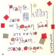 envoi Prairie Kittin