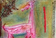 GV 6 universes, the red tall horse's universe meets a tree