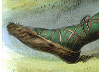 Gaelic Deerskin Walking Shoes
