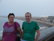 Before the operation with mum in Playa Ingles