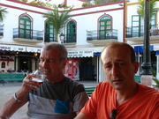 Just before the operation with dad in puerto mogan