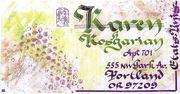 envoi Karen Koshgarian