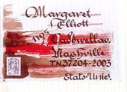 envoi Margaret  Elliott