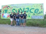 Outdoor na entrada da cidade - Itapecerica apoia a campanha