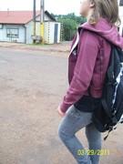 Rayane(filha),voltando da Escola...