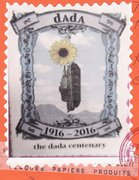Huge Dada Stamp from Katarina
