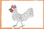 132/365.3 green-beaked chicken