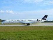 S5-AAV Adria Airways Bombardier CRJ-900LR EDDM
