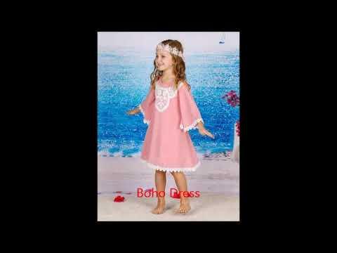 Adorable Spring Dresses For Dressing up Girls