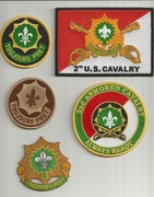 2nd Cavalry Patches