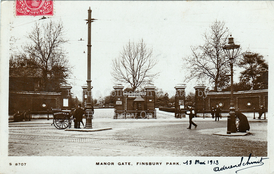 Manor Gate, Finsbury Park, Manor House Crossroad, c1910
