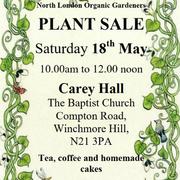 North London Organic Gardeners Plant Sale